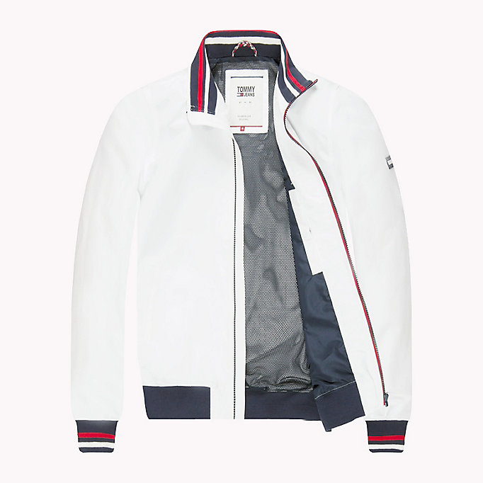 TOMMY JEANS Nylon Bomber Jacket - NAUTICAL BLUE - TOMMY JEANS Clothing - detail image 4