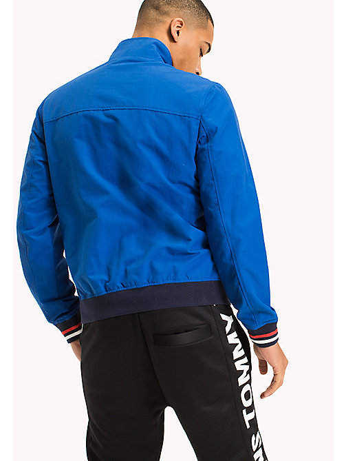 TOMMY JEANS Nylon Bomber Jacket - NAUTICAL BLUE - TOMMY JEANS MEN - detail image 1