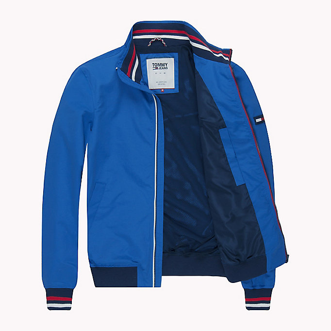 TOMMY JEANS Nylon Bomber Jacket - RACING RED - TOMMY JEANS Men - detail image 4