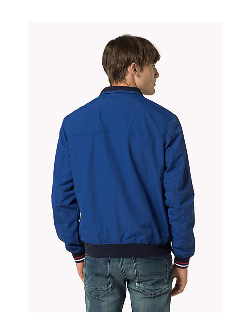 TOMMY JEANS Nylon Bomber Jacket - TRUE BLUE - TOMMY JEANS Coats & Jackets - detail image 1