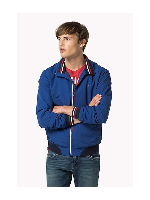TOMMY JEANS Nylon Bomber Jacket - TRUE BLUE - TOMMY JEANS Coats & Jackets - main image