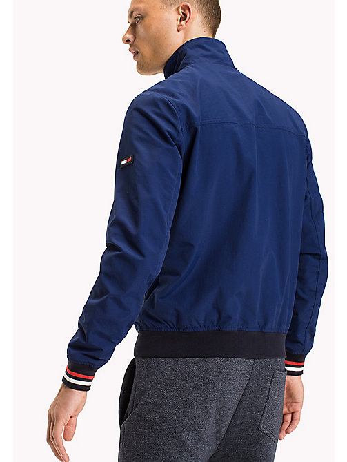 TOMMY JEANS Nylon Bomber Jacket - BLUE DEPTHS - TOMMY JEANS Coats & Jackets - detail image 1
