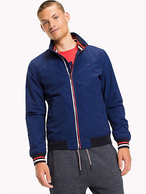 TOMMY JEANS Nylon Bomber Jacket - BLUE DEPTHS - TOMMY JEANS Coats & Jackets - main image