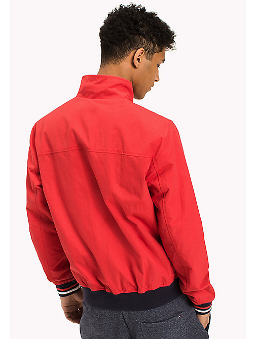 TOMMY JEANS Nylon Bomber Jacket - RACING RED - TOMMY JEANS Coats & Jackets - detail image 1