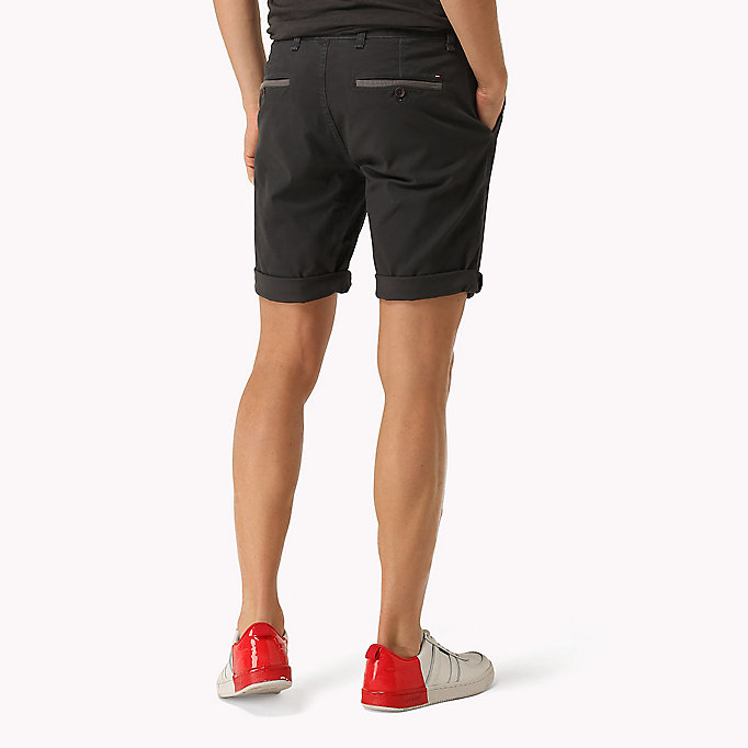 TOMMY JEANS Twill Fitted Straight Shorts - MOONSTRUCK - TOMMY JEANS Men - detail image 1