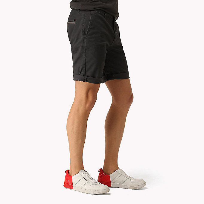 TOMMY JEANS Twill Fitted Straight Shorts - MOONSTRUCK - TOMMY JEANS Men - detail image 2