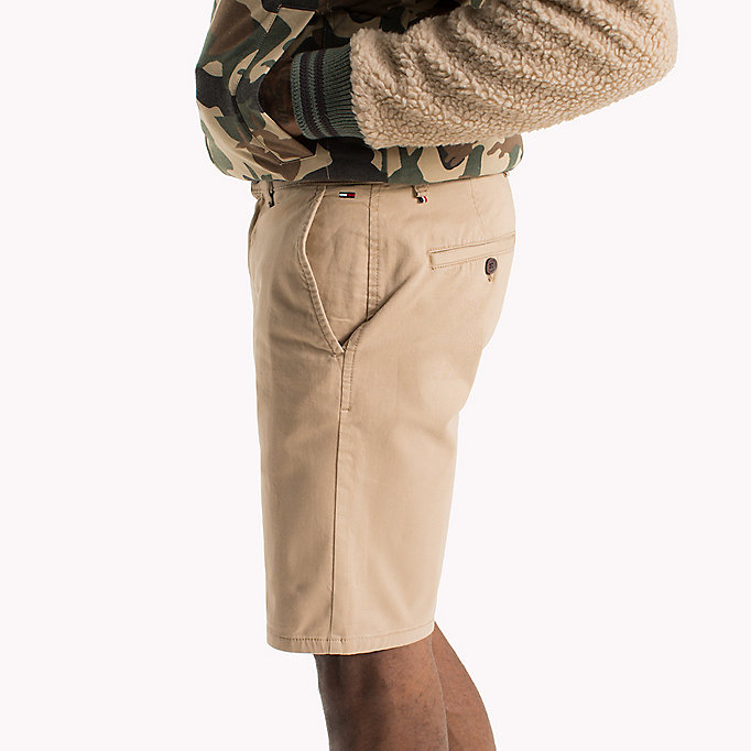 TOMMY JEANS Twill Fitted Straight Shorts - WINTER SKY - TOMMY JEANS Men - detail image 3