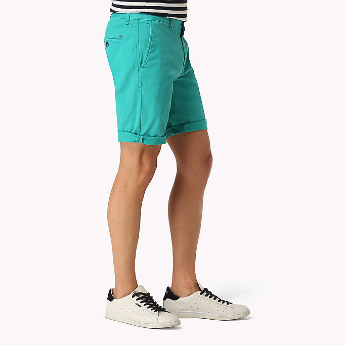 TOMMY JEANS Twill Fitted Straight Shorts - EBONY - TOMMY JEANS Men - detail image 2