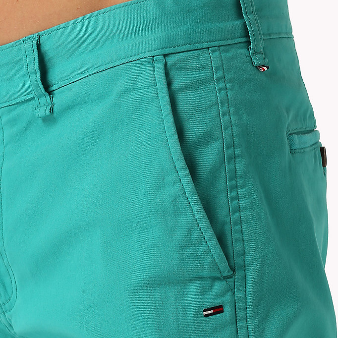 TOMMY JEANS Twill Fitted Straight Shorts - EBONY - TOMMY JEANS Men - detail image 3