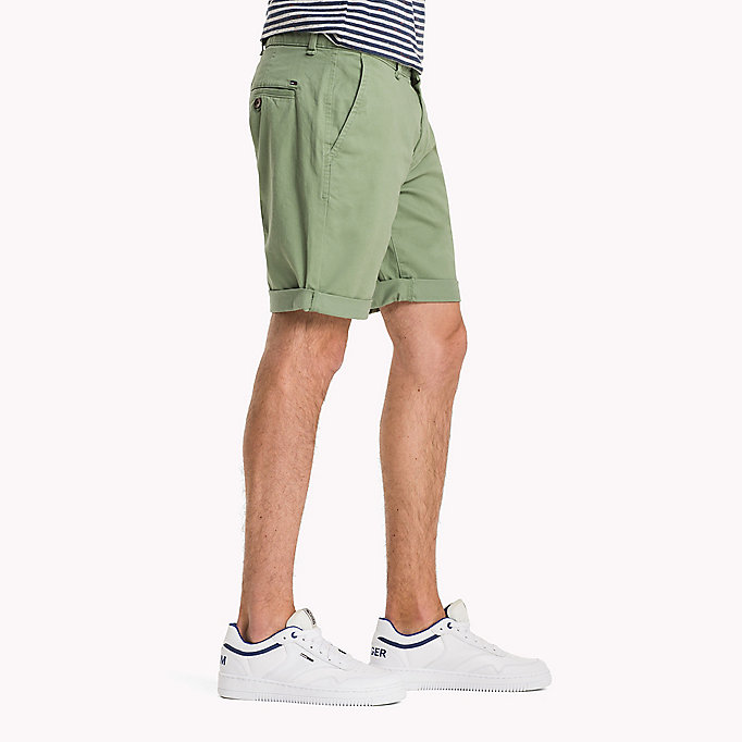 TOMMY JEANS Twill Fitted Straight Shorts - BLACK IRIS - TOMMY JEANS Men - detail image 2