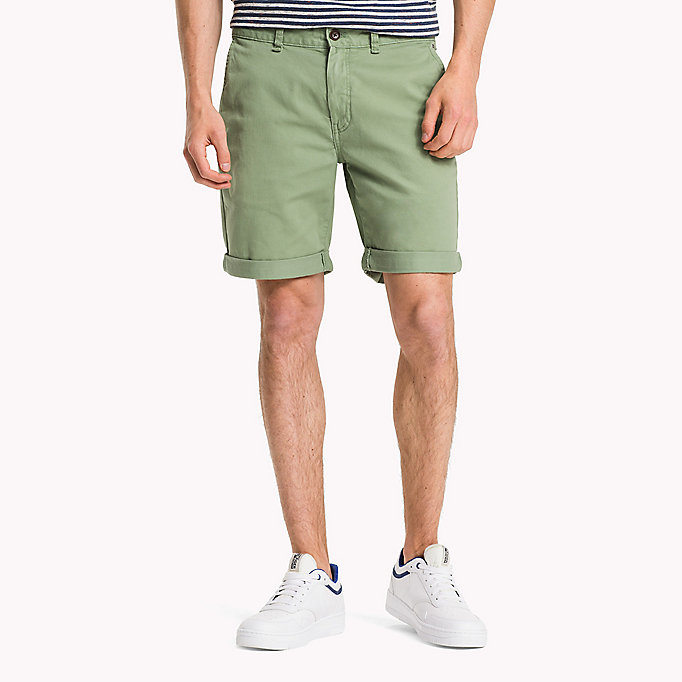 TOMMY JEANS Twill Fitted Straight Shorts - BLACK IRIS - TOMMY JEANS Men - main image