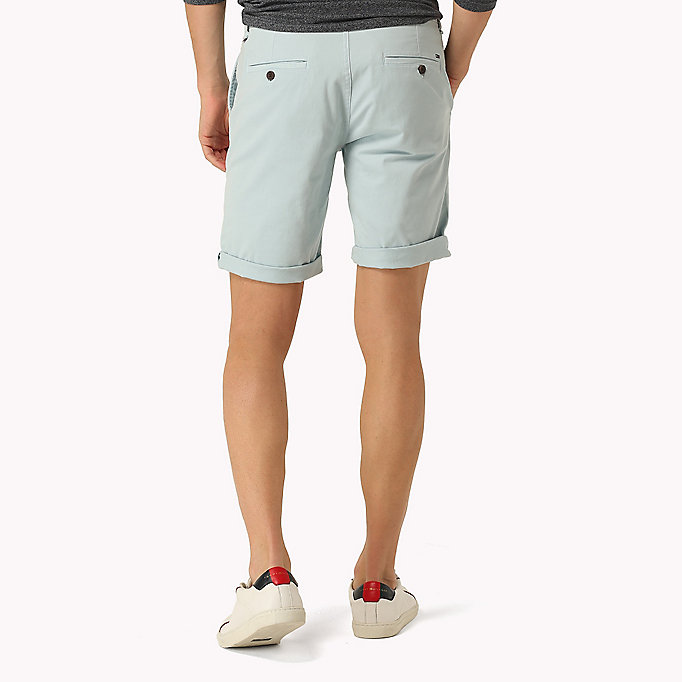 TOMMY JEANS Twill Fitted Straight Shorts -  - TOMMY JEANS Men - detail image 1