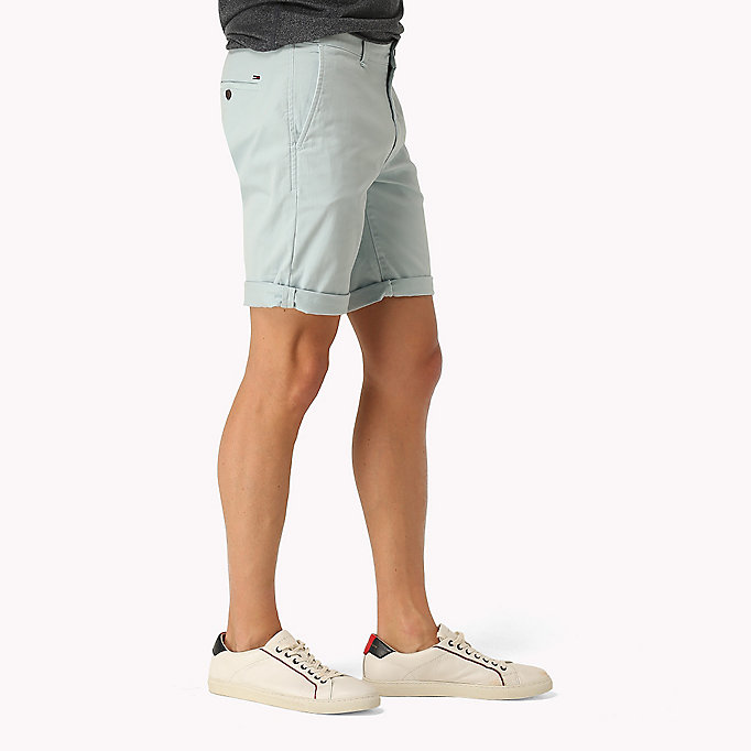 TOMMY JEANS Twill Fitted Straight Shorts -  - TOMMY JEANS Men - detail image 2
