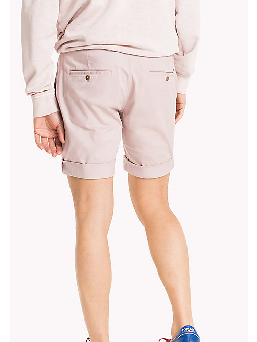 TOMMY JEANS Straight Fit Shorts aus Twill - VIOLET ICE - TOMMY JEANS Hosen & Shorts - main image 1