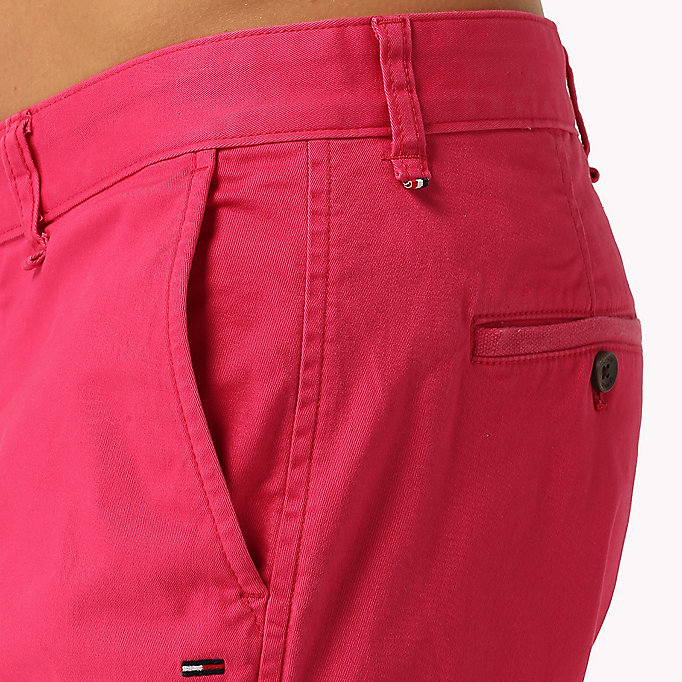 TOMMY JEANS Twill Fitted Straight Shorts - SEA SPRAY - TOMMY JEANS Men - detail image 3