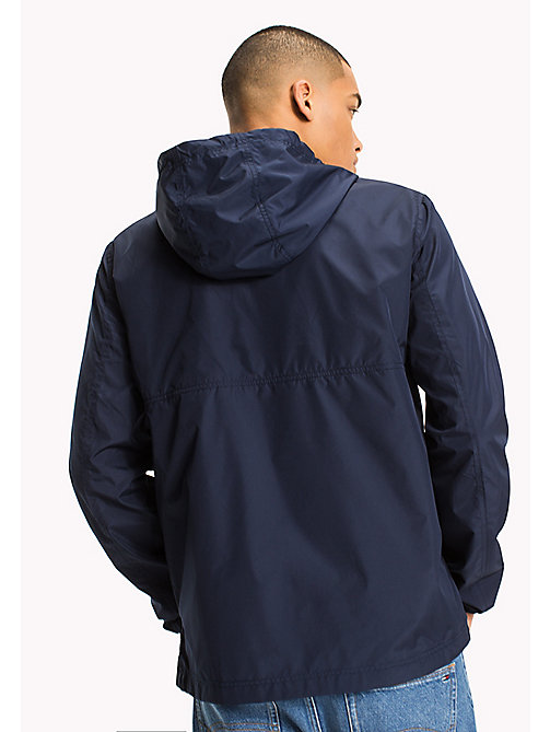 TOMMY JEANS Relaxed Fit Hooded Anorak - BLACK IRIS - TOMMY JEANS Clothing - detail image 1