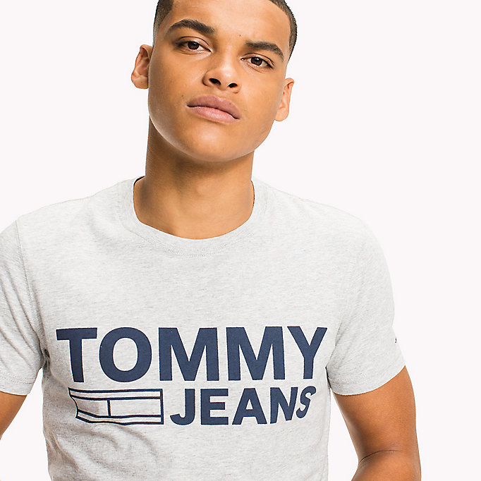 TOMMY JEANS Organic Cotton Jersey T-Shirt - ARTISANS GOLD - TOMMY JEANS Men - detail image 2