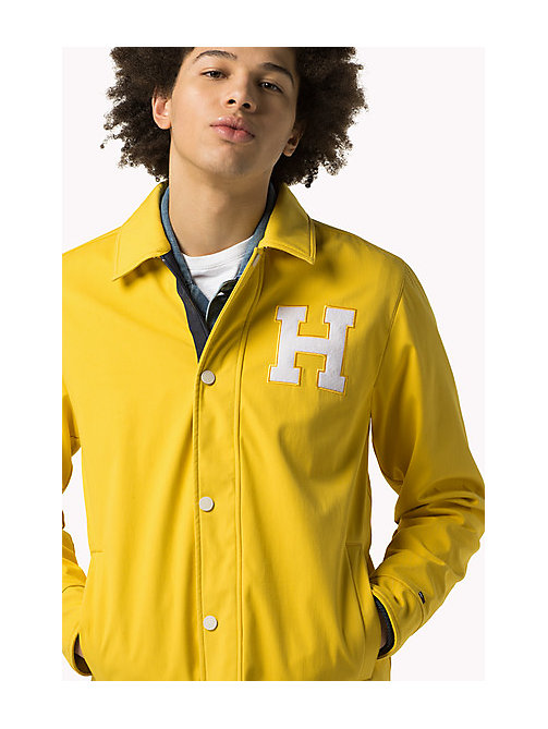 TOMMY JEANS Varsity Coach Jacket - SPECTRA YELLOW - TOMMY JEANS Coats & Jackets - main image