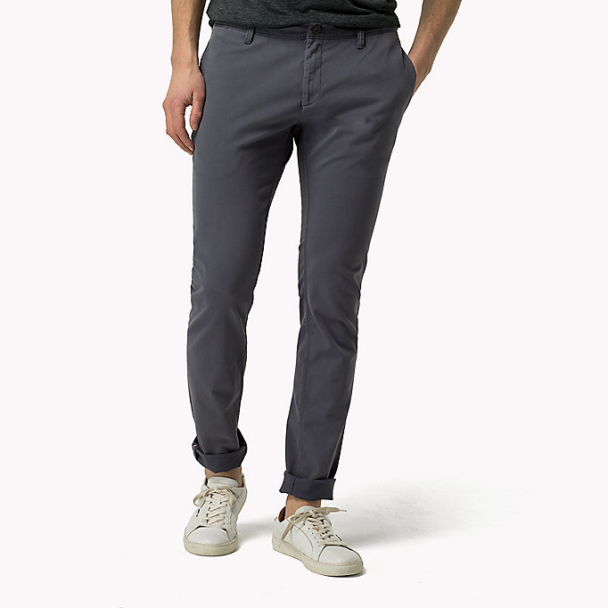 TOMMY JEANS Slim Fit Chinos - VULCAN - TOMMY JEANS Clothing - main image