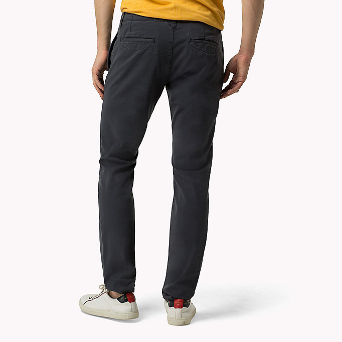 TOMMY JEANS Slim Fit Chinos - SLEET - TOMMY JEANS Clothing - detail image 1