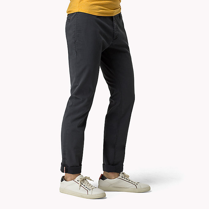 TOMMY JEANS Slim Fit Chinos - SLEET - TOMMY JEANS Clothing - detail image 2