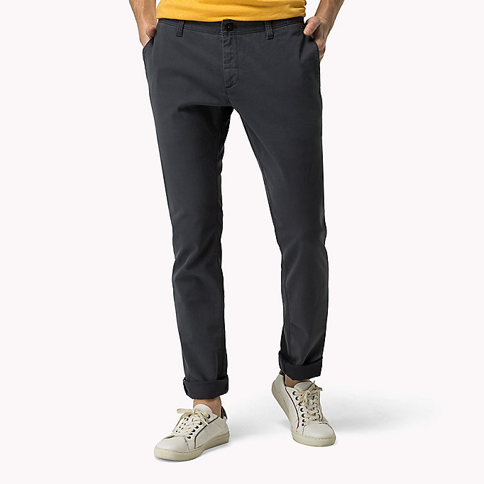 TOMMY JEANS Slim Fit Chinos - SLEET - TOMMY JEANS Clothing - main image