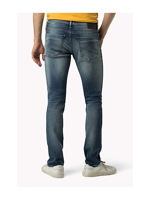 TOMMY JEANS Scanton Slim Fit Jeans - DYNAMIC CLEAR BLUE STRETCH - TOMMY JEANS Jeans - detail image 1