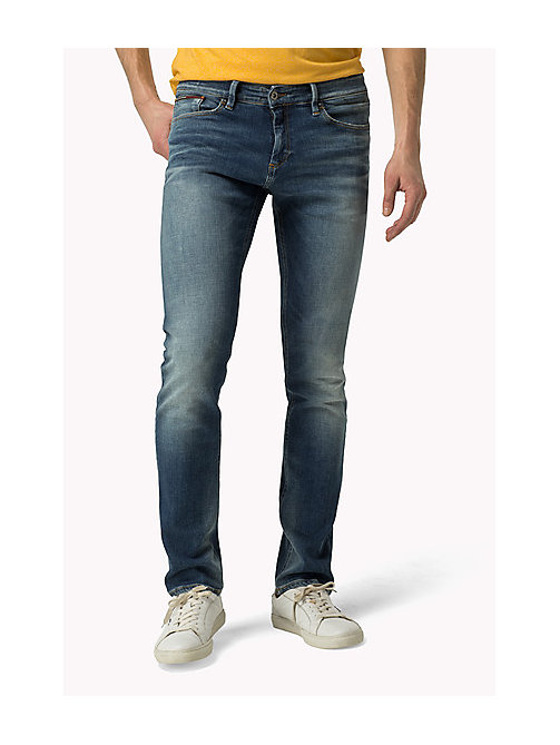 TOMMY JEANS Scanton Slim Fit Jeans - DYNAMIC CLEAR BLUE STRETCH - TOMMY JEANS Jeans - main image