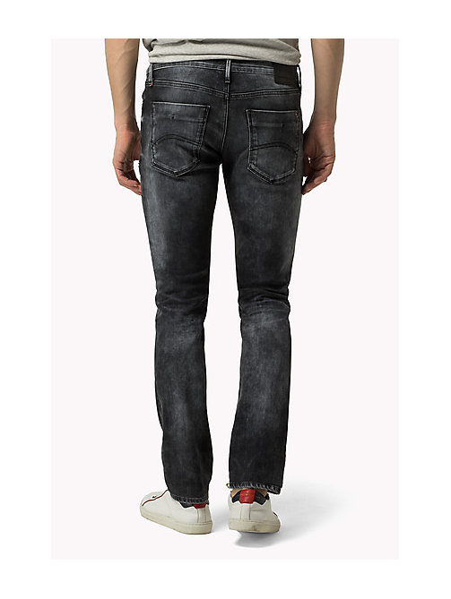 TOMMY JEANS Scanton Slim Fit Jeans - DYNAMIC X WORN GREY DESTRUCTED STRETCH - TOMMY JEANS Jeans - detail image 1