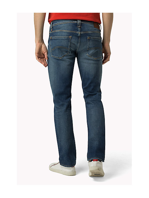 TOMMY JEANS Ryan Straight Fit Jeans - BUSHWICK MID BLUE COMFORT - TOMMY JEANS Clothing - detail image 1