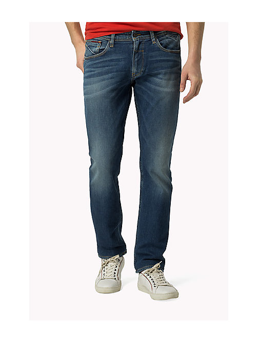 TOMMY JEANS Ryan Straight Fit Jeans - BUSHWICK MID BLUE COMFORT - TOMMY JEANS Clothing - main image
