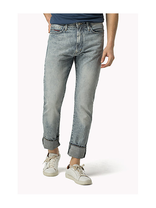 TOMMY JEANS Slim Straight Fit Jeans - MONTAUK LIGHT BLUE RIGID - TOMMY JEANS Jeans - main image