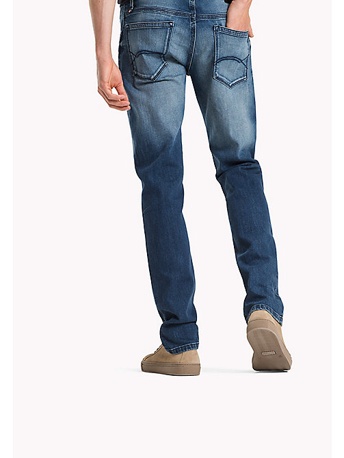 TOMMY JEANS Straight Fit Jeans - LENOX MID BLUE COMFORT - TOMMY JEANS Jeans - detail image 1