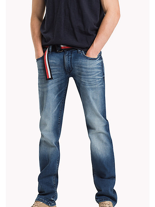 TOMMY JEANS Straight Fit Jeans - LENOX MID BLUE COMFORT - TOMMY JEANS Jeans - main image