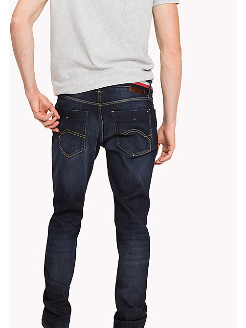 TOMMY JEANS Slim Fit Jeans - MURRAY DARK BLUE STRETCH - TOMMY JEANS Jeans - detail image 1
