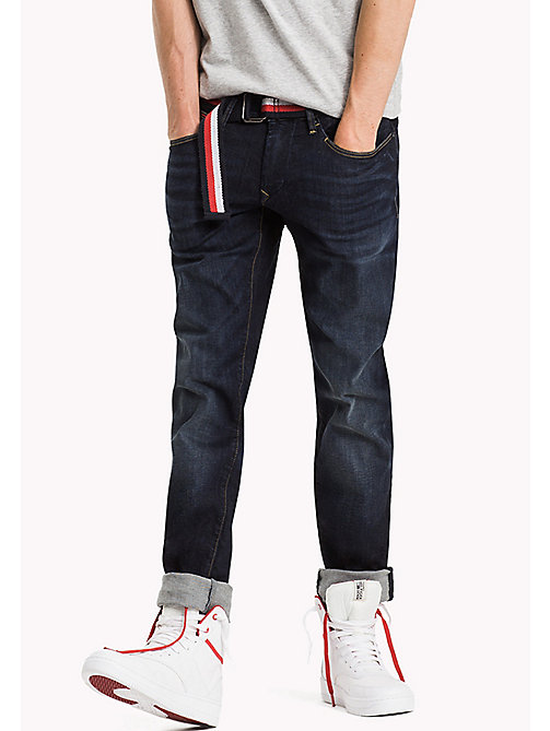 TOMMY JEANS Slim Fit Jeans - MURRAY DARK BLUE STRETCH - TOMMY JEANS Jeans - main image