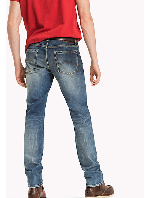 TOMMY JEANS Straight Fit Jeans - STATEN MID PATCHED COMFORT - TOMMY JEANS Jeans - detail image 1