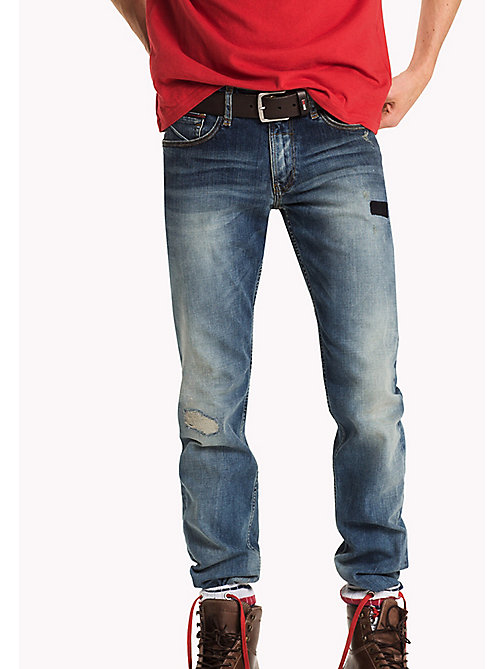 TOMMY JEANS Straight Fit Jeans - STATEN MID PATCHED COMFORT - TOMMY JEANS Jeans - main image