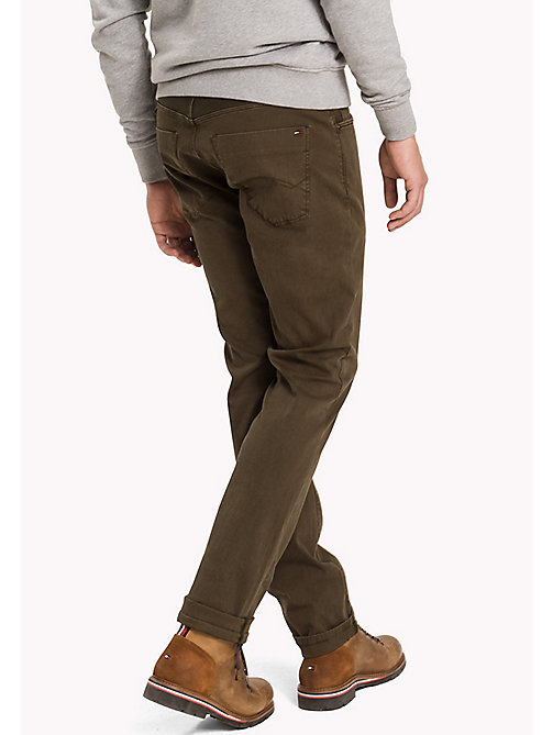 TOMMY JEANS Slim Fit Hose aus Baumwolle - FOREST NIGHT - TOMMY JEANS Hosen - main image 1