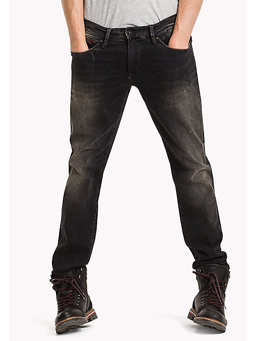 TOMMY JEANS Slim Fit Jeans - DYNAMIC URBAN BLACK STRETCH - TOMMY JEANS Jeans - main image