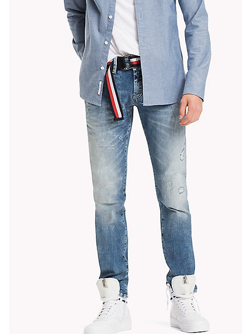 TOMMY JEANS Slim Fit Jeans - DYNAMIC X CLASSIC LIGHT BLUE DESTRUCTED - TOMMY JEANS Jeans - main image