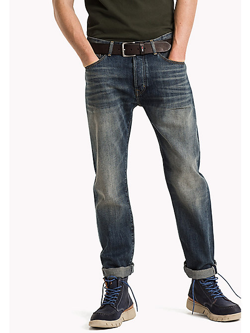 TOMMY JEANS Slim Straight Fit jeans - SELVEDGE RIGID VINTAGE INDIGO - TOMMY JEANS Jeans - main image