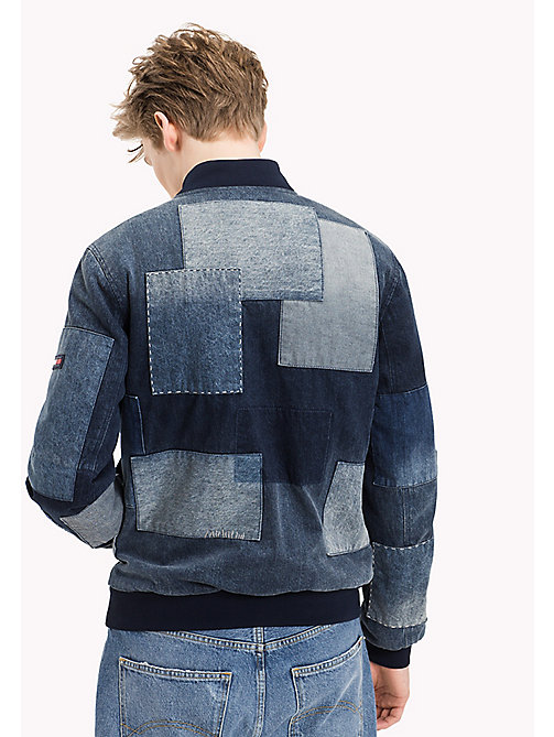 TOMMY JEANS Patchwork-Bomberjacke in Indigo - INDIGO PATCHED - TOMMY JEANS Mäntel & Jacken - main image 1