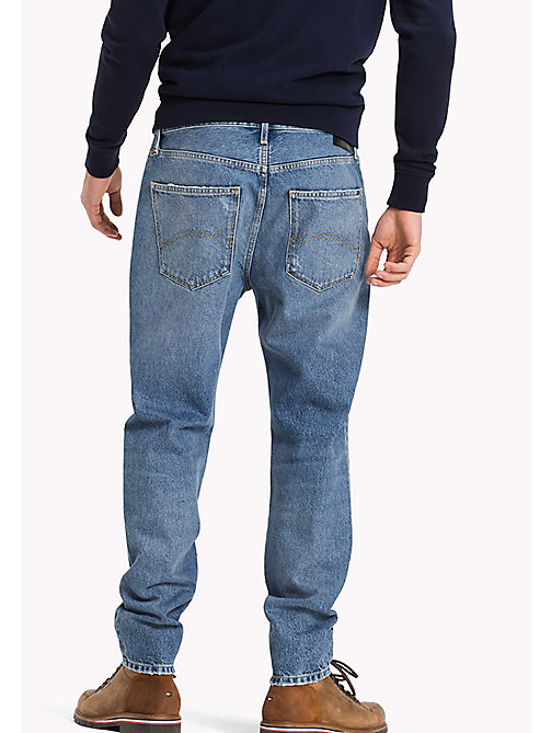 TOMMY JEANS Tapered Fit Jeans - REBEL STONE BLUE RIGID - TOMMY JEANS Jeans - detail image 1