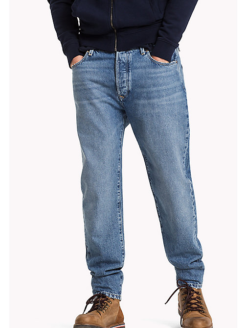 TOMMY JEANS Tapered Fit Jeans - REBEL STONE BLUE RIGID - TOMMY JEANS Jeans - main image