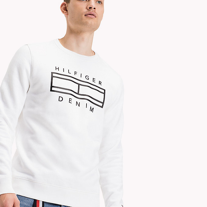 TOMMY JEANS French-Terry-Sweatshirt - BLACK IRIS - TOMMY JEANS Kleidung - main image 2