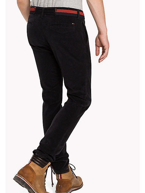 TOMMY JEANS Slim Fit Hose aus Kordsamt - BLACK BEAUTY - TOMMY JEANS Hosen - main image 1