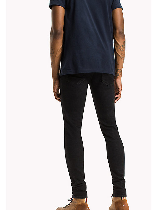 TOMMY JEANS Skinny Fit Jeans - DYNAMIC DEEP BLACK STRETCH - TOMMY JEANS Jeans - detail image 1