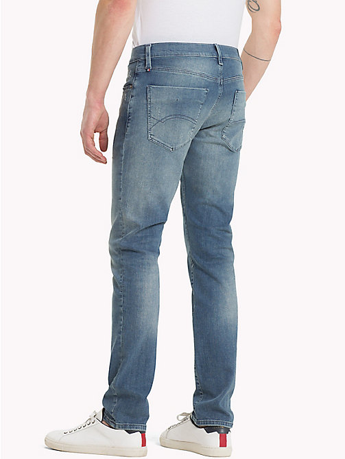 TOMMY JEANS Slim Fit Jeans - PINE LIGHT BLUE STRETCH DESTRUCTED - TOMMY JEANS Jeans - detail image 1