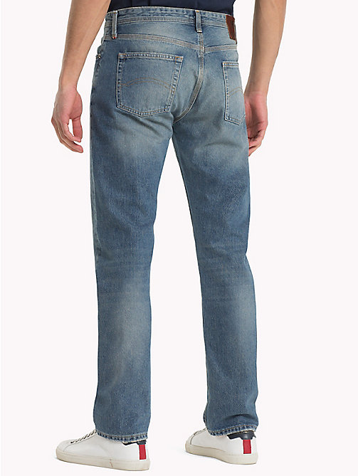 TOMMY JEANS Straight Fit Jeans - CHESTNUT LIGHT BLUE RIGID - TOMMY JEANS Jeans - detail image 1